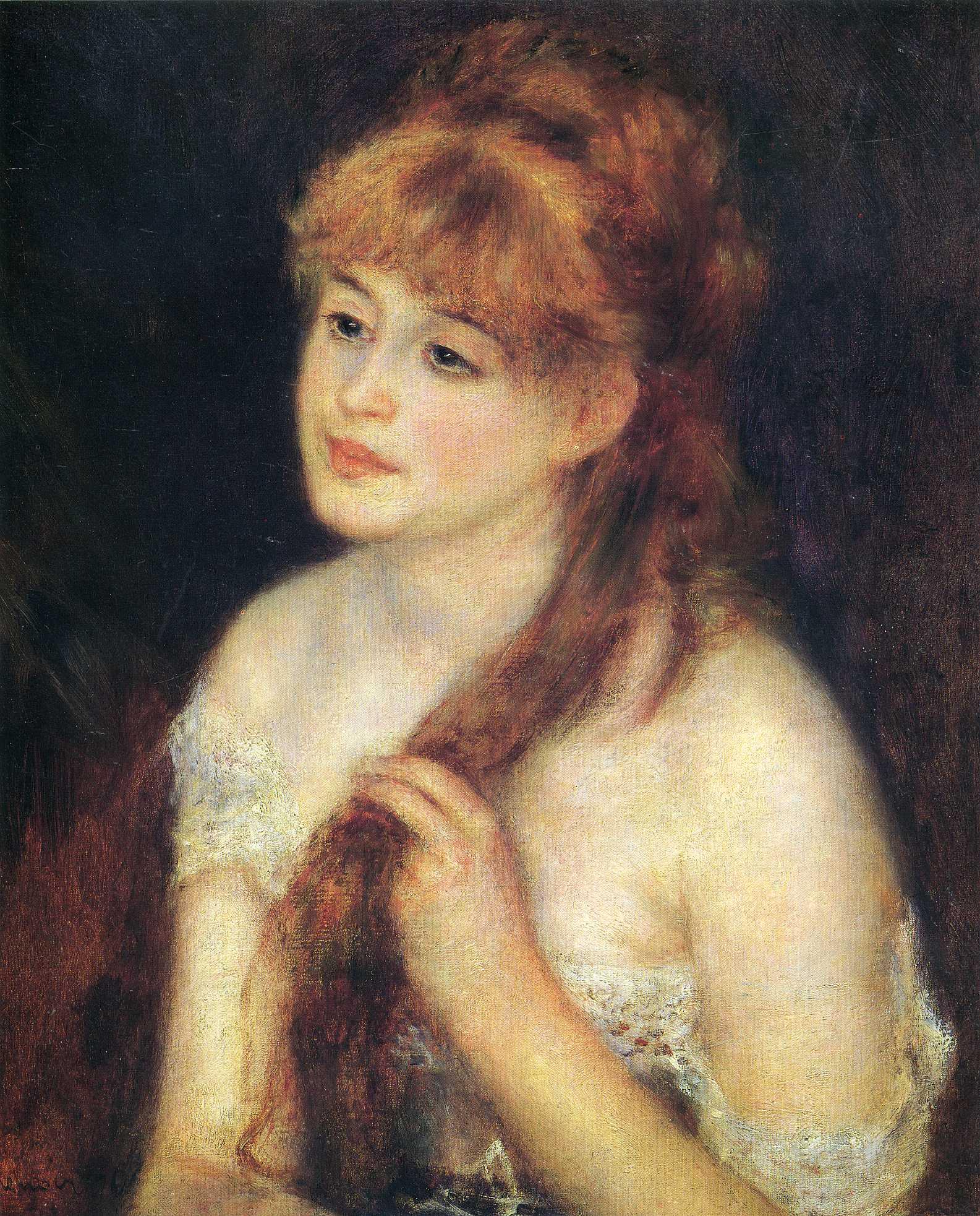 «Женский образ в творчестве О. Ренуара» (к 180-летию со дня рождения художника)