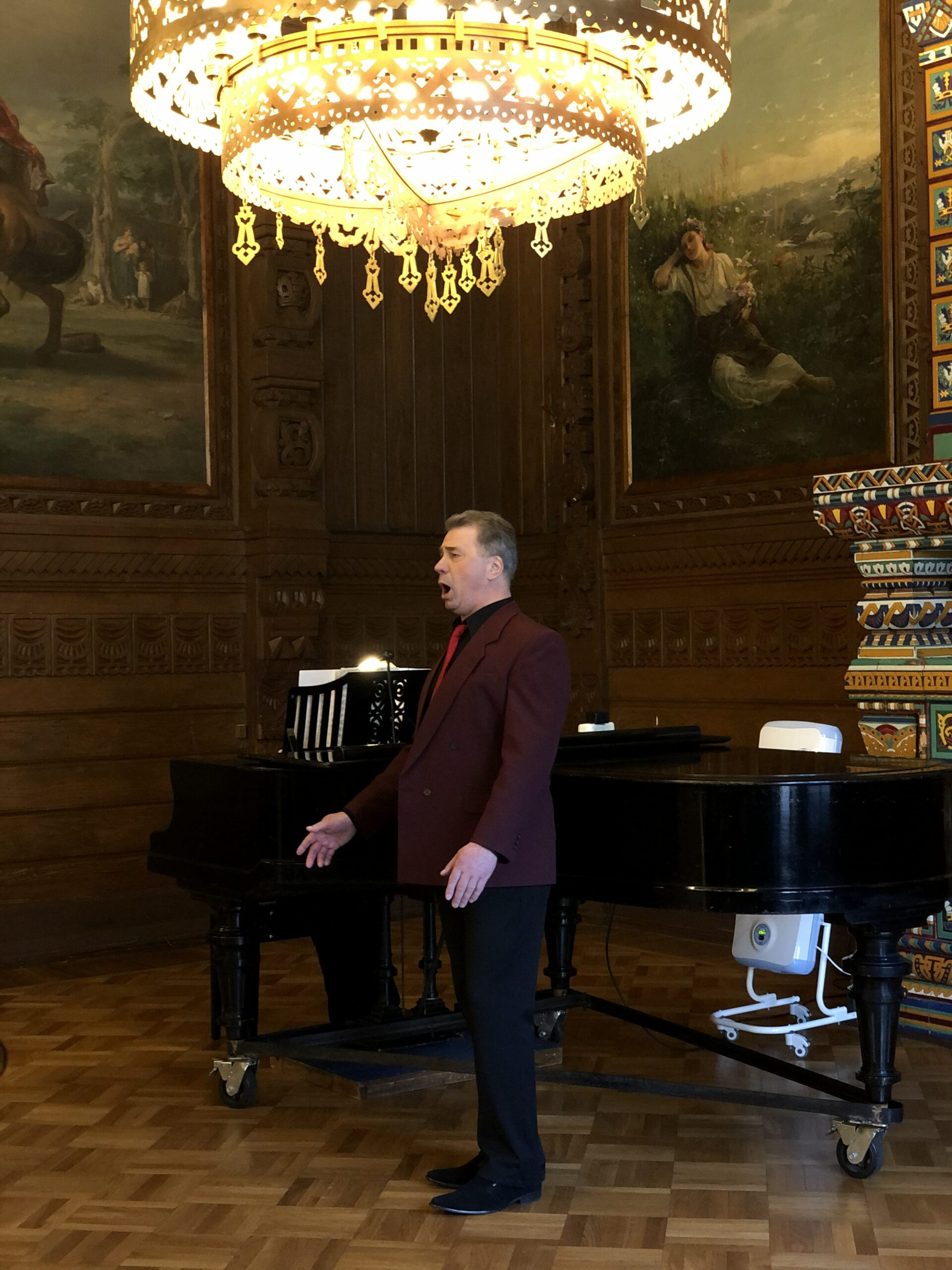 Концерт, посвященный 76-летию Победы в Великой Отечественной войне. Фотоотчет.